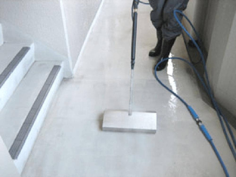 洗浄可能な床材・硬質塩ビシート・マンション・オフィス・病院・介護施設