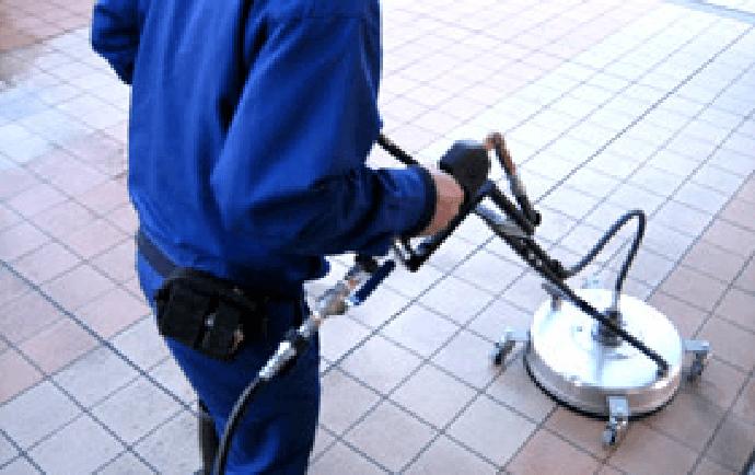 高圧スチーム洗浄