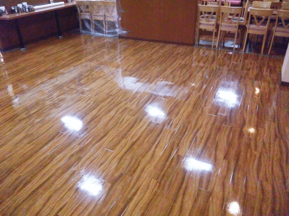UVコーティング施工事例4
